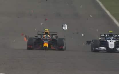 Red Bull, esplode il cofano motore. FOTO e VIDEO