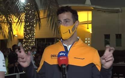 """Ricciardo: """"Sono solo test, ma buone sensazioni"""""""