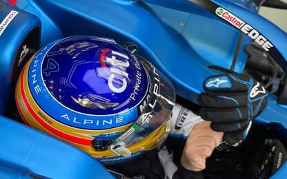 Alonso è tornato, il suo Day-2 di test. FOTO