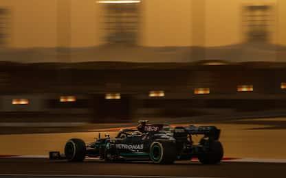 Primo lampo Mercedes, Day-2 a Bottas. Leclerc 6°