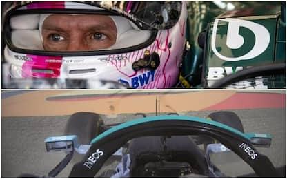 Vettel-Hamilton, un complicato Day-2 di test