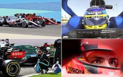 """F1, il """"best of"""" dei tre giorni di test in Bahrain"""