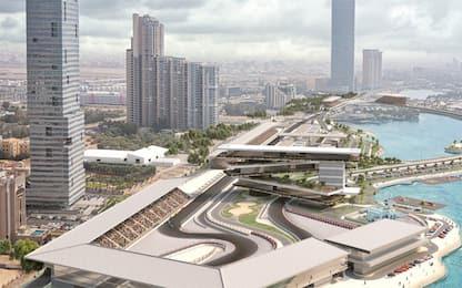 F1 in Arabia: svelato il circuito di Jeddah. VIDEO