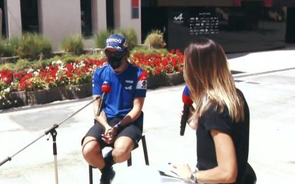 """Alonso a Sky: """"Voglio vincere. Titolo? Un sogno"""""""