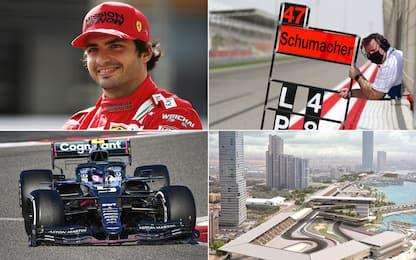Da Sainz all'Arabia, le novità del Mondiale 2021
