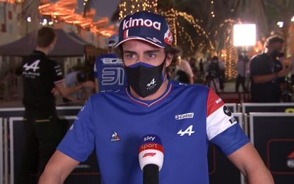 """La carica di Alonso: """"Voglio tornare a vincere"""""""