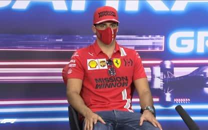 "Sainz: ""Ferrari speciale, voglio godermela"""
