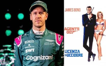 Vettel battezza l'Aston: si chiama Honey Ryder
