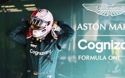 Vettel, esordio da dimenticare: eliminato in Q1