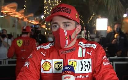 """Leclerc: """"Sorpresi da McLaren, ma buona partenza"""""""