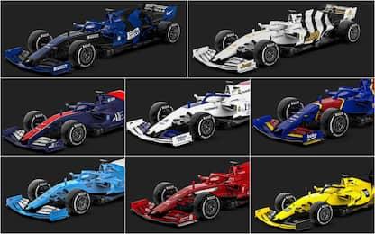 Se le Formula 1 fossero squadre di calcio. FOTO