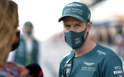 """Vettel: """"Nel lockdown ho fatto l'agricoltore"""""""
