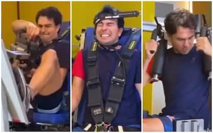 Perez verso Imola: l'allenamento estremo. VIDEO