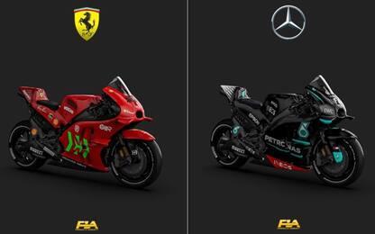 F1, quando le macchine diventano... delle MotoGP!