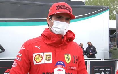 """Sainz: """"Con questa Ferrari si può spingere"""""""