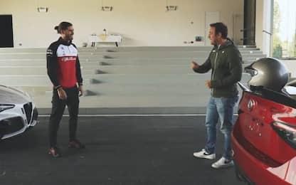 Giovinazzi-Bobbi, la prova sulla Giulia GTA. VIDEO