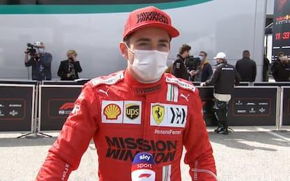 """Leclerc: """"Volevo vincere, ma giornata positiva"""""""