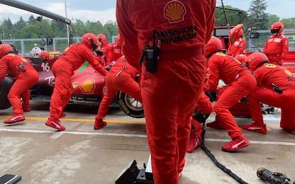 Ferrari a Imola, bicchiere più che mezzo pieno