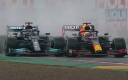 Hamilton-Verstappen, il dialogo dopo il contatto