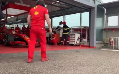 Schumi Jr e Ilott a Fiorano con la SF71H. VIDEO