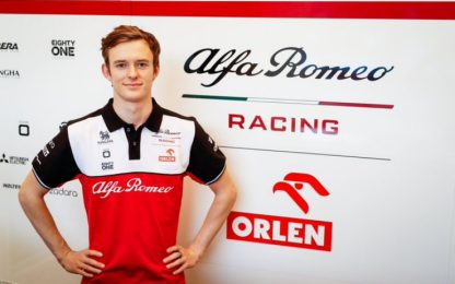 Alfa Romeo, Ilott secondo pilota di riserva