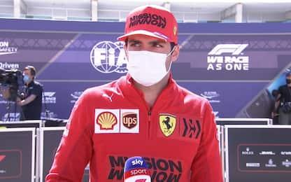 """Sainz: """"Giro non perfetto, ma buone qualifiche"""""""