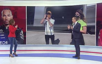 """Ricciardo imita Compagnoni: """"Rete! Rete!"""". VIDEO"""