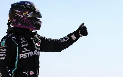 Hamilton è il re delle pole: le sue 10 più veloci