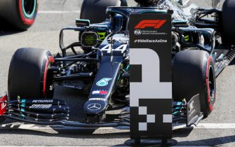 AUTODROMO NAZIONALE MONZA, ITALY - SEPTEMBER 05: Lewis Hamilton, Mercedes F1 W11 EQ Performance, on pole position during the Italian GP at Autodromo Nazionale Monza on Saturday September 05, 2020 in Monza, Italy. (Photo by Steven Tee / LAT Images)