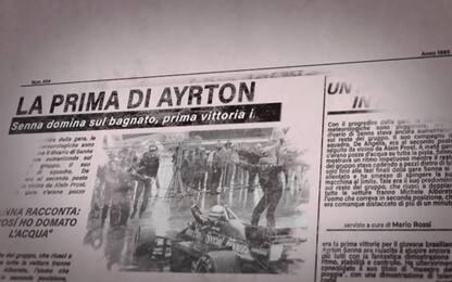 Senna, la prima vittoria in carriera. VIDEO