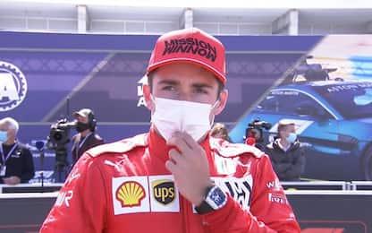 """Leclerc: """"Gara perfetta, ma sognavo il podio"""""""