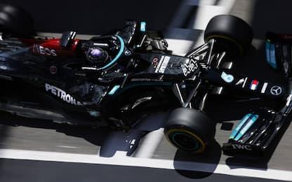 Hamilton vince di forza a Portimao. Leclerc 6°