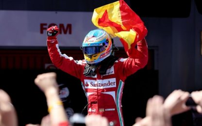 Ferrari a Barcellona, l'ultimo successo nel 2013