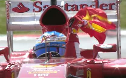 Ferrari, con Alonso l'ultimo successo a Barcellona