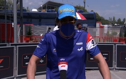 "Alonso: ""Derby con Sainz? Spero di lottare"""