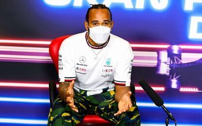 "Hamilton: ""Verstappen forte, lo scenario mi piace"""