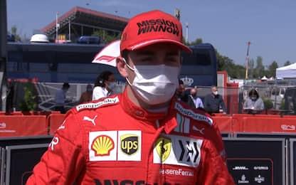 """Leclerc sorride: """"Abbiamo trovato il ritmo"""""""