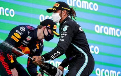 Max perfetto, ma alla fine vince sempre Lewis
