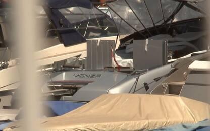 'Monza', la barca di Leclerc a Montecarlo. VIDEO