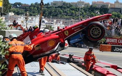 """Montecarlo """"gran casino"""": quanti incidenti! FOTO"""