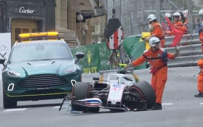 Schumi Jr, brivido a Monaco: l'incidente. FOTO