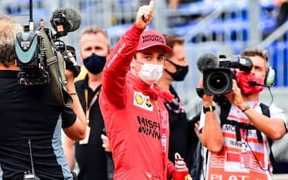 Leclerc, niente pole e niente gara: semiasse ko