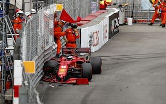 # 16 Charles Leclerc (MON, Scuderia Ferrari Mission Winnow), F1 Grand Prix of Monaco at Circuit de Monaco on May 22, 2021 in Monte-Carlo, Monaco. (Photo by HOCH ZWEI)