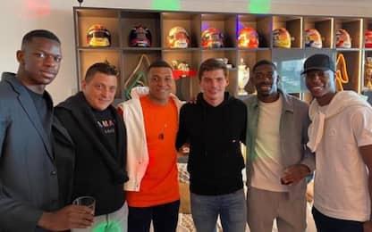 """Verstappen con Mbappé e Dembélé: """"Il mio FUT team"""""""