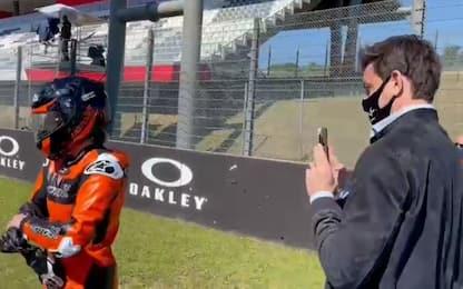 """Wolff: """"Vedere frenare le MotoGP è pazzesco"""""""