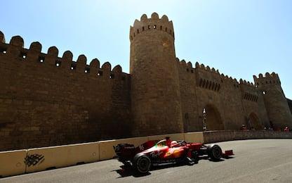 Baku, Ferrari terza forza: è in costante crescita
