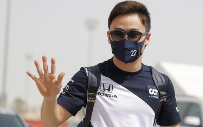 """Tsunoda vivrà in Italia: """"Un grande privilegio"""""""