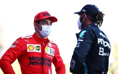 Mercedes alza la testa, Ferrari in crescita