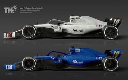 Calcio o F1? Le macchine diventano... Nazionali!