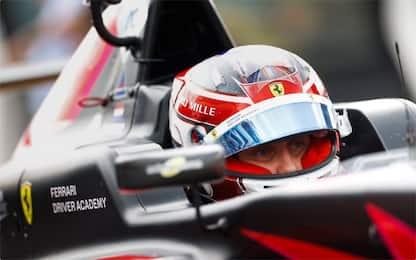 Formula 4, prima top 10 per Maya Weug